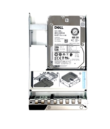 400-ATIO NWTD0 Dell 600GB 15K RPM 512n 12Gbps 2.5in SAS hot-plug hard drive in 3.5in Hybrid Tray
