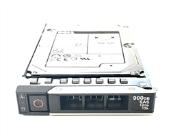 "Part # 400-ATIQ - Dell 900GB 15000 RPM 2.5"" SAS 512n 12Gbps, 14G hot-plug hard drive"