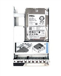 Part# 400-ATIS Original Dell 1900GB 15K RPM 512n 12Gbps 2.5in SAS hot-plug hard drive in 3.5in Hybrid Tray