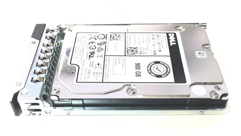 "Part # 400-ATIT - Dell 900GB 15000 RPM 2.5"" SAS 512n 12Gbps, 14G hot-plug hard drive"
