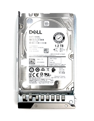 "Part # 400-ATJL - Dell 1.2TB 10000 RPM 2.5"" SAS 12Gbps 14G hot-plug hard drive"