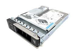 Part# 400-ATJP SED Dell 1.2TB 10K RPM 512e 12Gbps 2.5in SAS hot-plug hard drive in 3.5in Hybrid Tray