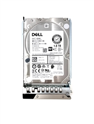Dell 1.8TB 10000 RPM 2.5in SAS 512e 12Gbps, 14th Gen hot-plug hard drive.