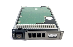 "400-AUSL - Dell VRTX 2.4TB 10000 RPM 2.5in SAS 512e 12Gbps hot-plug hard drive. Comes w/ 2.5"" drive and 2.5"" tray for your VRTX PowerEdge Servers"