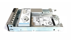 Part# 400-AVHE SED Dell 2.4TB 10K RPM 512e 12Gbps 2.5in SAS hot-plug hard drive in 3.5in Hybrid Tray