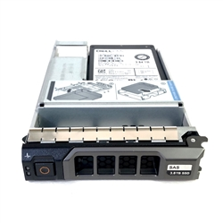 Dell 3.84TB SSD SAS Read Intensive Hybrid 3.5 inch hot-plug drive for 13th Gen MD PowerVault.