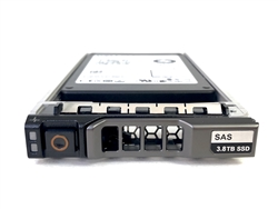 Dell 3.84TB SSD SAS MIX Use 12Gbps 2.5 inch hot-plug drive for 13th Gen MD Arrays.