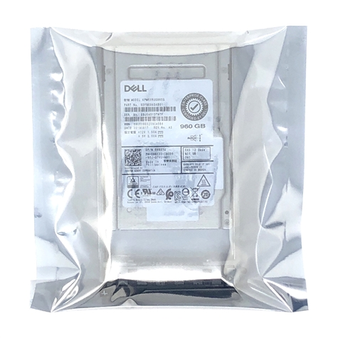 Dell 960GB SSD SAS MIX MLC 12Gbps 2.5 inch hot-plug drive for 13th Gen MD Arrays.