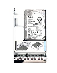 Part# 401-ABHS Original Dell 2.4TB 10K RPM 512e 12Gbps 2.5in SAS hot-plug hard drive in 3.5in Hybrid Tray