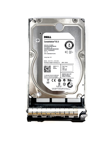 Dell - 3TB 7.2K RPM SAS HD -Mfg # 91K8T