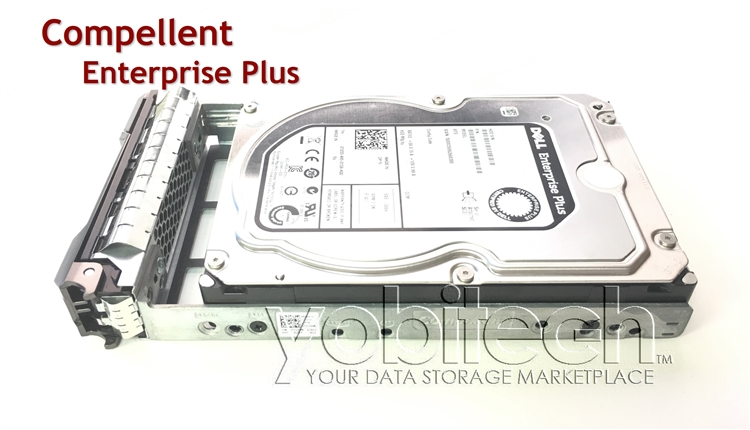 Dell Compellent 4TB 7 2K RPM 3 5in SAS Hard Drive SC200 SCv2020