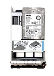 "Dell 1.8TB 10000 RPM 3.5"" 12Gb/s SAS hard drivehybrid kit"