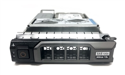 "Dell 900GB 15K SAS 2.5""-3.5"" Hybrid HD HYB-PE900GB15K3.5-38F"