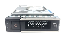 "Part# HYB-PE900GB15K3.5-GEN14 - Original Dell 900GB 15000 RPM 3.5"" 12Gb/s SAS hot-plug hard drive installed into hybrid kit. (these are 2.5 inch drives that includes converters and 3.5"" trays for installation into 3.5"" slots for your MD-Series Gen14"