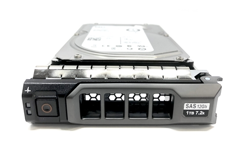 Part MD1TB7.2K3.5-G13 Original Dell 1TB 7200 RPM 3.5 inch SAS hot plug hard drive. (These are 3.5 inch drives) Comes with drive and tray for your MD Series PowerVault Arrays.