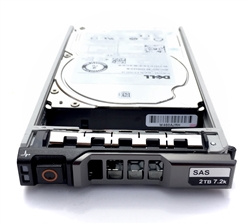 "Dell 2TB 7200 RPM 2.5"" SAS hard drive"