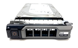 "Part# MD3TB7.2K3.5-38F Original Dell 3TB 7200 RPM 3.5"" SAS hot-plug hard drive. (these are 3.5 inch drives) Comes w/ drive and tray for your MD-Series PowerVault Arrays."
