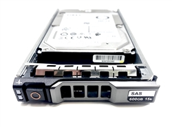 "Part# MD600GB15K2.5-G Original Dell 600GB 15000 RPM 2.5"" SAS 3hot-plug hard drive. (these are 2.5 inch drives) Comes w/ drive and tray for your MD-Series PowerVault Arrays."