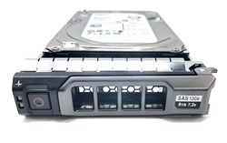 "Part# MD8TB7.2K3.5-G13 Original Dell 8TB 7200 RPM 3.5"" SAS hot-plug hard drive. (these are 3.5 inch drives) Comes w/ drive and tray for your MD-Series PowerVault Arrays."