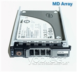 "Part # MDSSD400GBSATA - Dell PowerVault 400GB SATA SSD 6Gbps 2.5"" Write Intensive MLC"