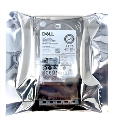 PowerVault ME4024 ME424 - Dell 1.2TB 10K SAS 2.5 inch 12Gbps Hard Drive