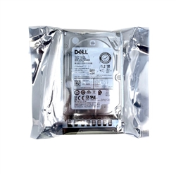 Dell 1.2TB 10000 RPM 2.5in SAS 512n 12Gbps, 14th Gen hot-plug hard drive.