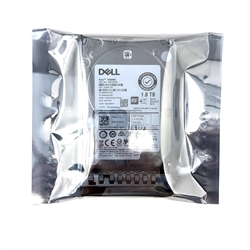 Dell 1.8TB 10000 RPM 2.5in SAS 512e 12Gbps, 14th Gen hot-plug hard drive
