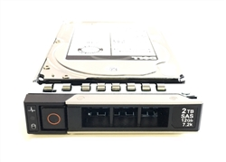 Dell 2TB 7200 RPM 2.5in SAS 512n 12Gbps, 14th Gen hot-plug hard drive.