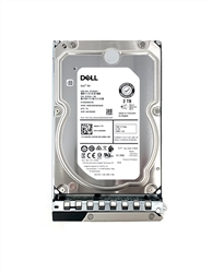"Part# PE2TB7.2K3.5-GEN14- Original Dell 2TB 7200 RPM 3.5"" 12Gb/s SAS hot-plug hard drive"