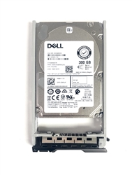 "PE300GB10K2.5-G Original Dell 300GB 10000 RPM 2.5"" SAS hot-plug hard drive. Comes w/ drive and tray for your PE-Series PowerEdge Servers."