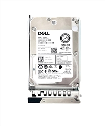Dell 300GB 15000 RPM 2.5in SAS 512n 12Gbps, 14th Gen hot-plug hard drive.