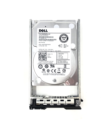 "PE500GB7.2K2.5-G Original Dell 500GB 7200 RPM 2.5"" SAS hot-plug hard drive. Comes with drive and tray for your PE-Series PowerEdge Servers."
