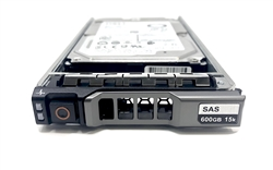 "PE600GB15K2.5-G Original Dell 600GB 15000 RPM 2.5"" SAS hot-plug hard drive. Comes w/ drive and tray for your PE-Series PowerEdge Servers."