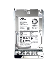 Dell 600GB 15000 RPM 2.5in SAS 512n 12Gbps, 14th Gen hot-plug hard drive.