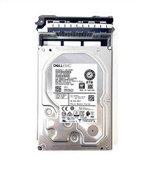 "Dell 8TB 7200 RPM 3.5"" 512e SATA hot-plug hard drive"