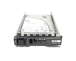 "Dell 240GB SSD SATA 6Gbps 2.5 inch hot-plug drive. Comes w/ 2.5"" drive and 2.5"" tray for 13G PowerEdge Servers."