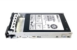 "Dell 3.84TB SSD SAS 12Gbps 2.5 inch hot-plug drive. Comes w/ 2.5"" drive and 2.5"" tray for 13G PowerEdge Servers."