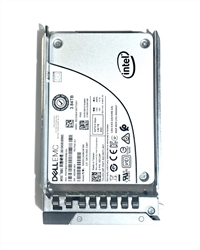 "Dell 3.84TB SSD SATA 6Gbps 2.5 inch hot-plug drive. Comes w/ 2.5"" drive and 2.5"" tray for 14G PowerEdge Servers"