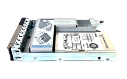Dell 3.84TB SSD SATA Read Intensive Hybrid 3.5 inch hot-plug drive for 14th Gen MD PowerEdge.