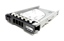 "Dell 480GB SSD SATA 6Gbps 2.5 inch hot-plug drive. Comes w/ 2.5"" drive and 2.5"" tray for 11G & 12G PowerEdge Servers."