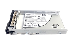 "Dell 7.68TB SSD SAS 12Gbps 2.5 inch hot-plug drive. Comes w/ 2.5"" drive and 2.5"" tray for 13G PowerEdge Servers."