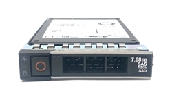 Dell 7.68TB SSD SAS Read Intensive 12Gbps 2.5 inch hot-plug drive 14G PowerEdge