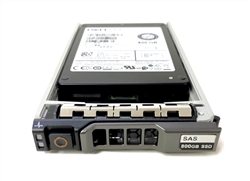 "Dell 800GB SSD SAS 12Gbps 2.5 inch hot-plug drive. Comes w/ 2.5"" drive and tray for 11G & 12G PowerEdge Servers"