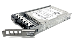 "Dell 960GB SSD SAS 12Gbps 2.5 inch hot-plug drive. Comes w/ 2.5"" drive and 2.5"" tray for 11G & 12G PowerEdge Servers"
