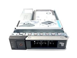 Dell 960GB SSD SAS Read Intensive Hybrid 3.5 inch hot-plug drive for 14th Gen MD PowerEdge.