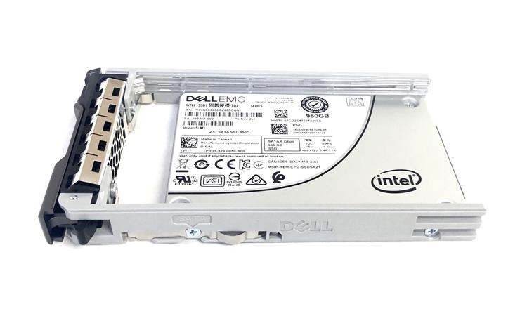 13th Gen - Dell SSD 960GB Read Intensive RI 2 5 inch SATA Drive for  PowerEdge