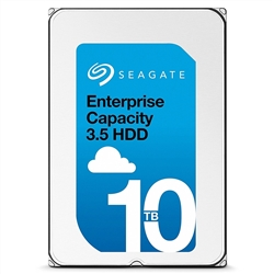 "Seagate ST10000NM0096 Enterprise Class V.6 10TB (10000GB) 7200RPM 3.5"" 12Gbps 256MB 512E SAS Hard Drive."