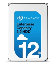 "ST12000NM0027  Seagate 12TB 7.2K 12Gbps 512e 3.5"" SAS Hard Drives with 5 Year Seagate Warranty."