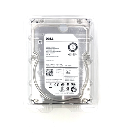 ST2000NM0045 Seagate 2TB 7200 RPM 12Gbps 3.5 inch SAS Hard Drive with 5 Year Seagate Mfg Warranty