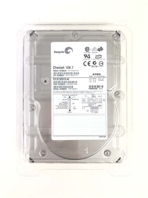 SEAGATE  ST3146707LW 146GB 10K.7 U320 SCSI 68PIN HARD DRIVE